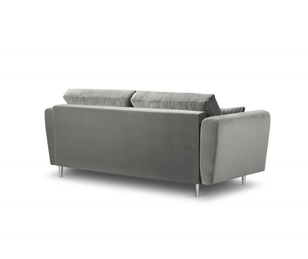 Canapea 3 locuri Deauville Light Grey