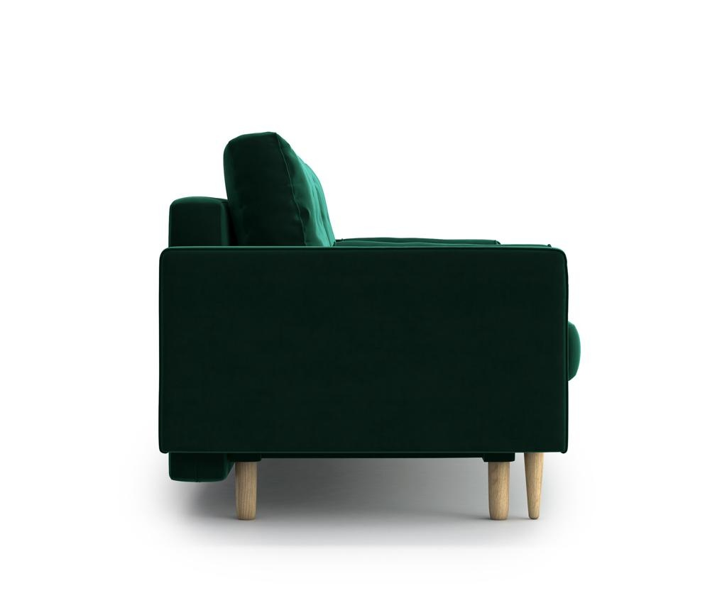 Canapea extensibila 3 locuri Esme Green