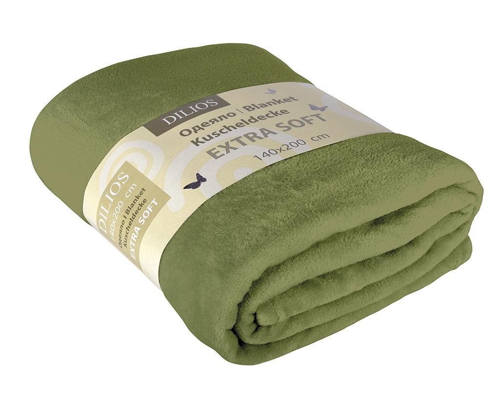 Deka Extra Soft Verde 140x200 cm