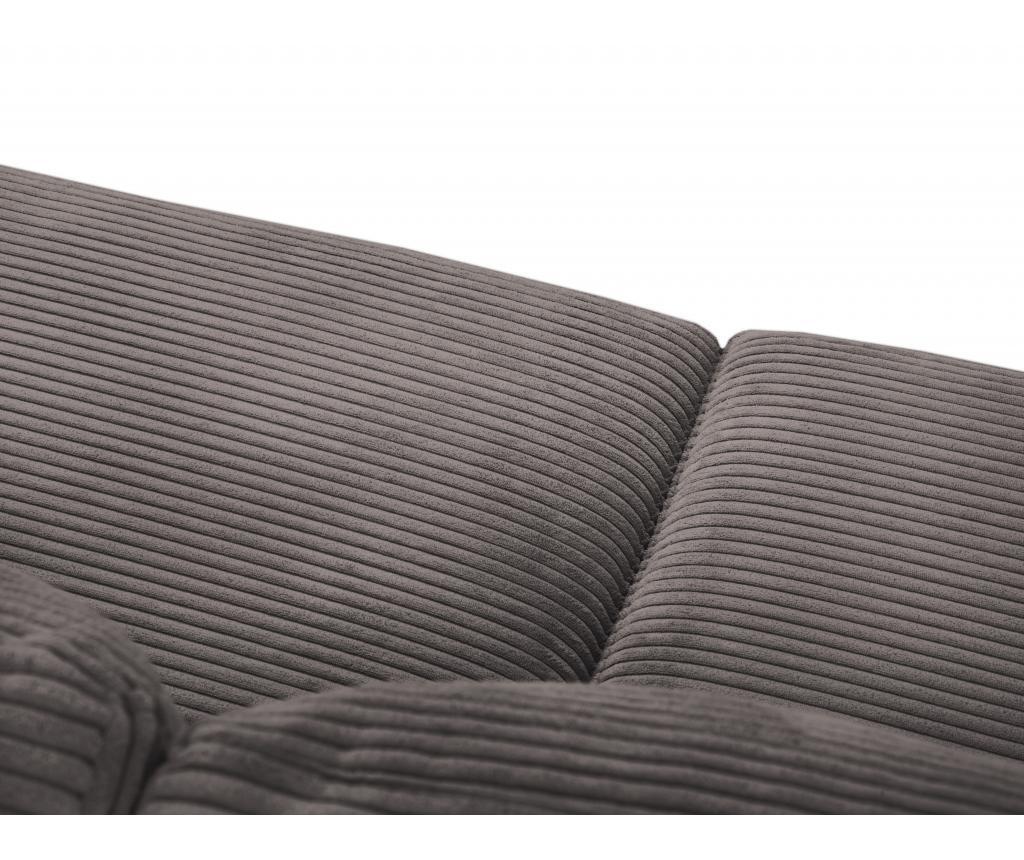 Canapea extensibila 4 locuri Donatella  Brown