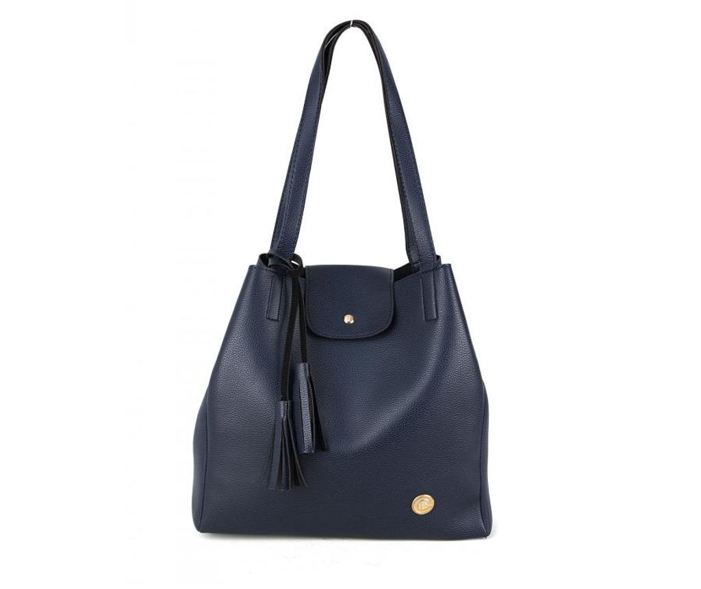 Geanta Polonation Navy Blue