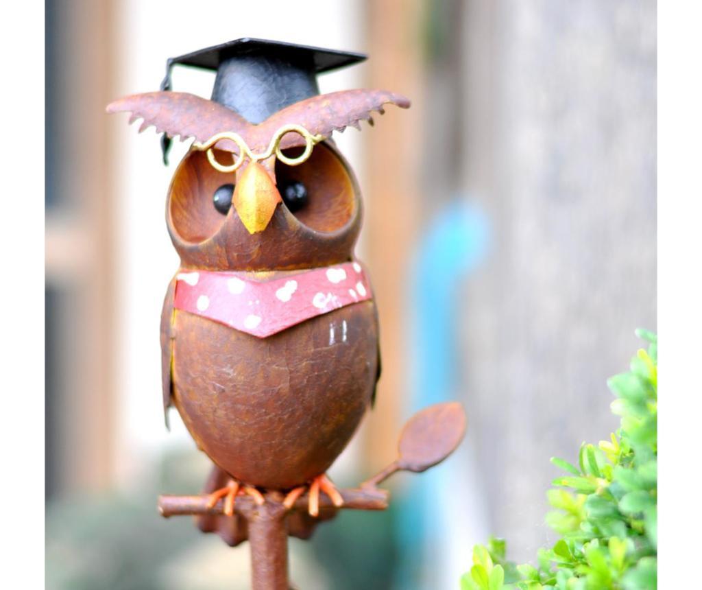 Decoratiune de gradina Owl Professor