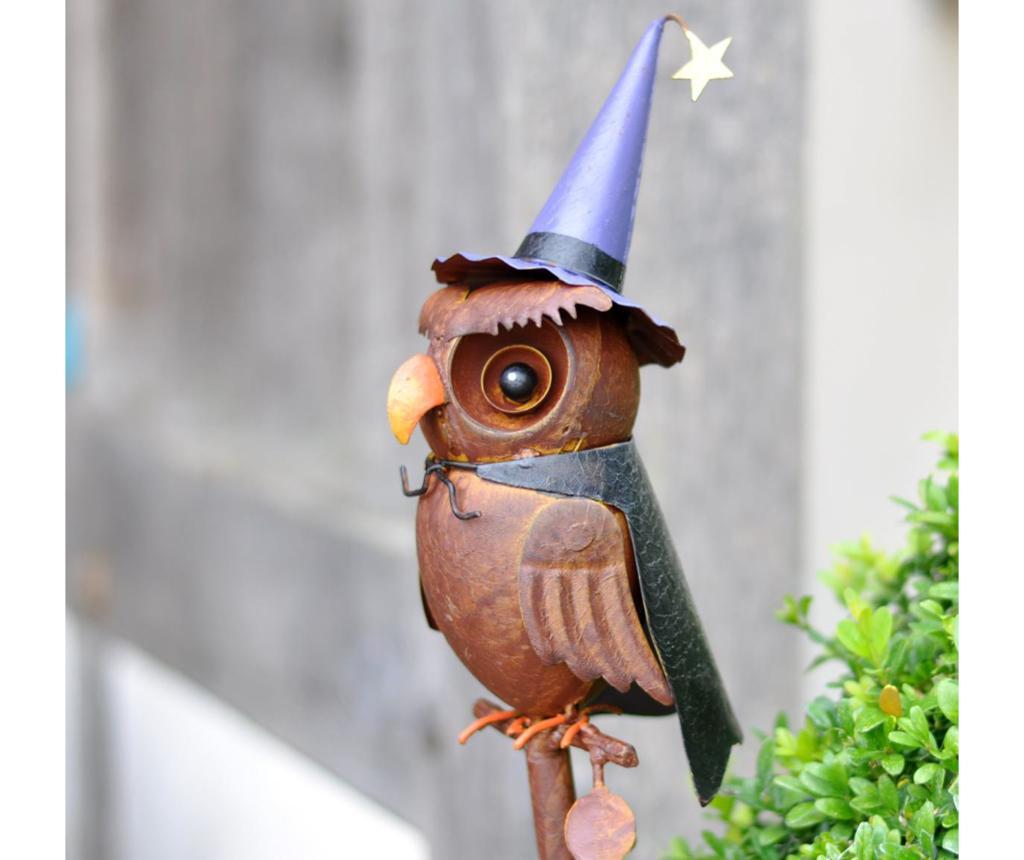 Decoratiune de gradina Owl Wizard