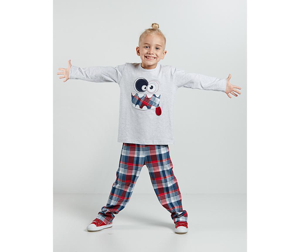 Set bluza si pantaloni pentru copii Funny Face 5 ani