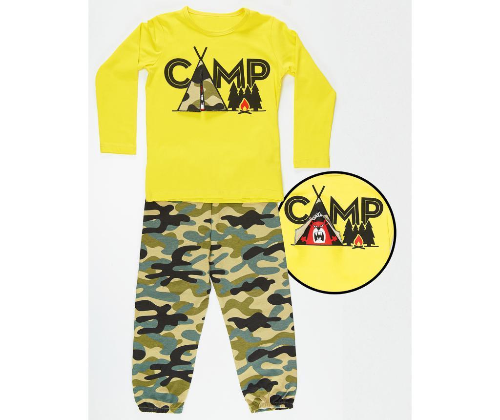 Set bluza si pantaloni pentru copii Military Camp 10 ani