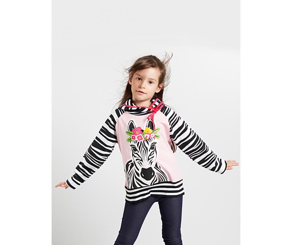 Hanorac Zebra Girl 4 ani