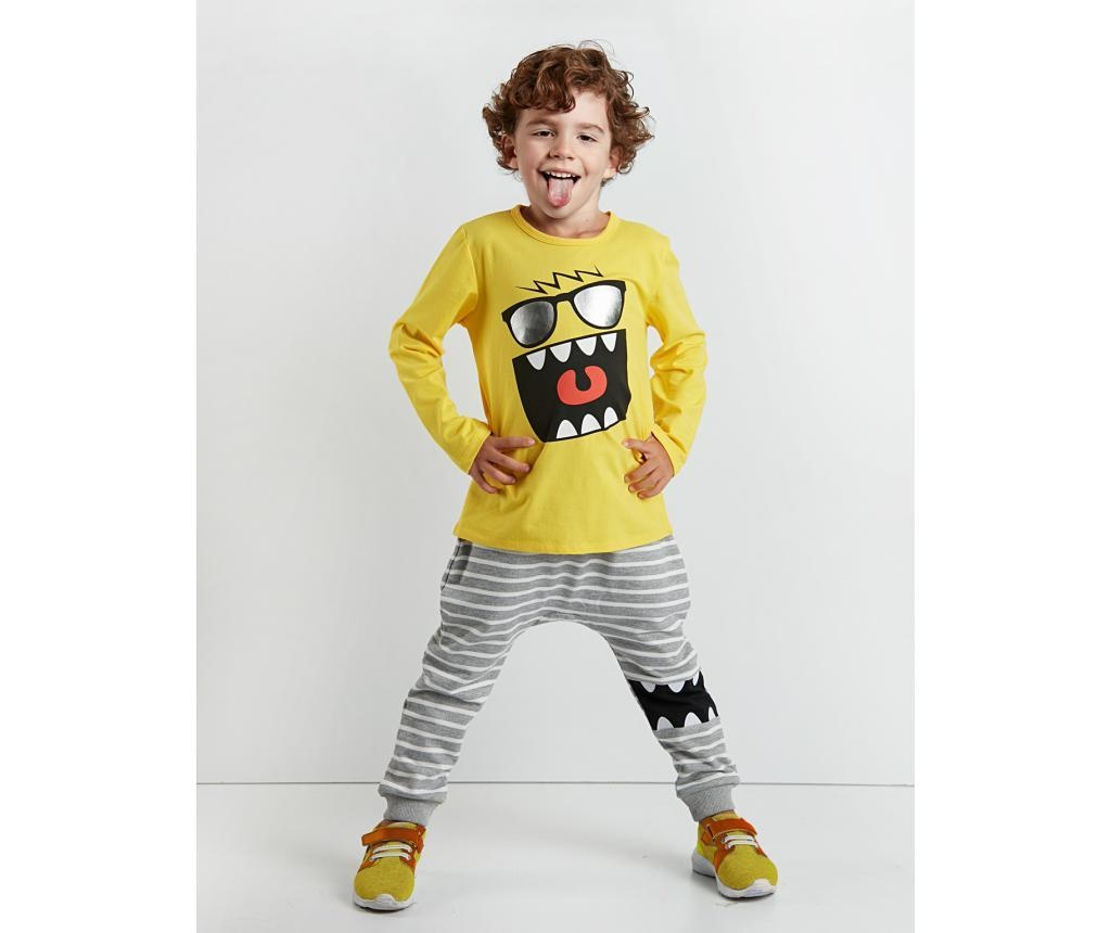 Set bluza si pantaloni Mr Glasses 3 years