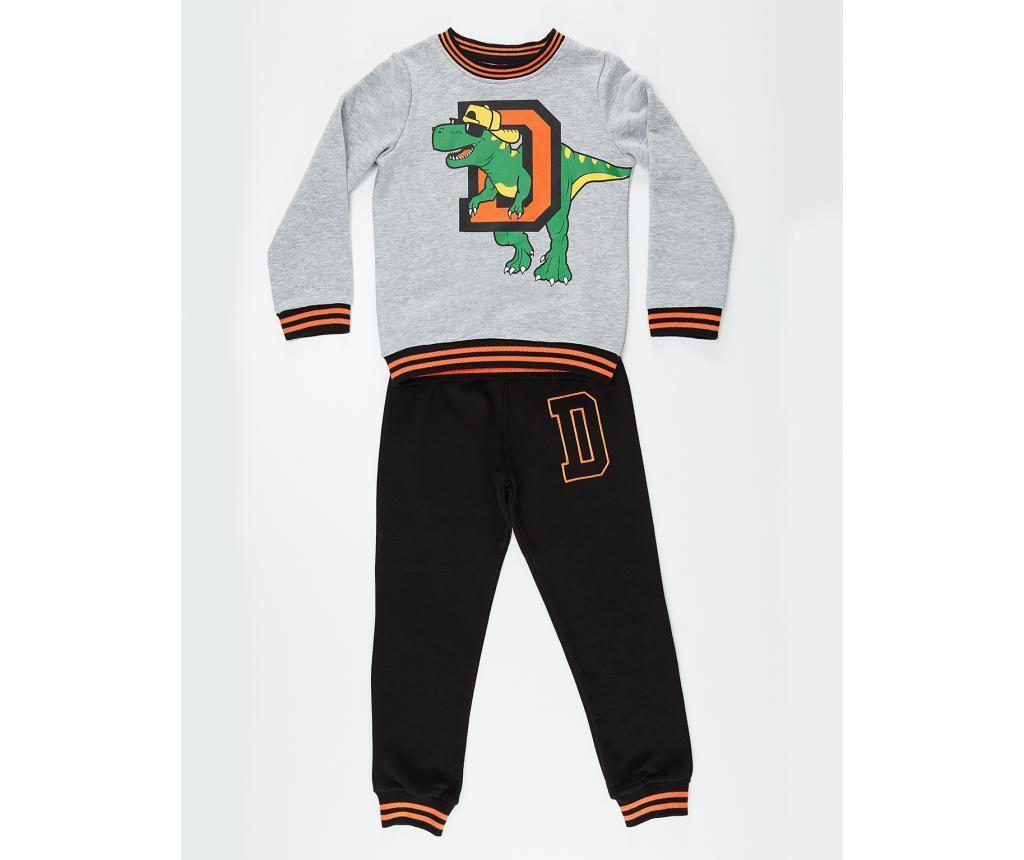 Set bluza si pantaloni Dino D 7 ani