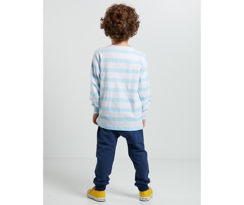 Set bluza si pantaloni pentru copii Orange Dino 6 ani