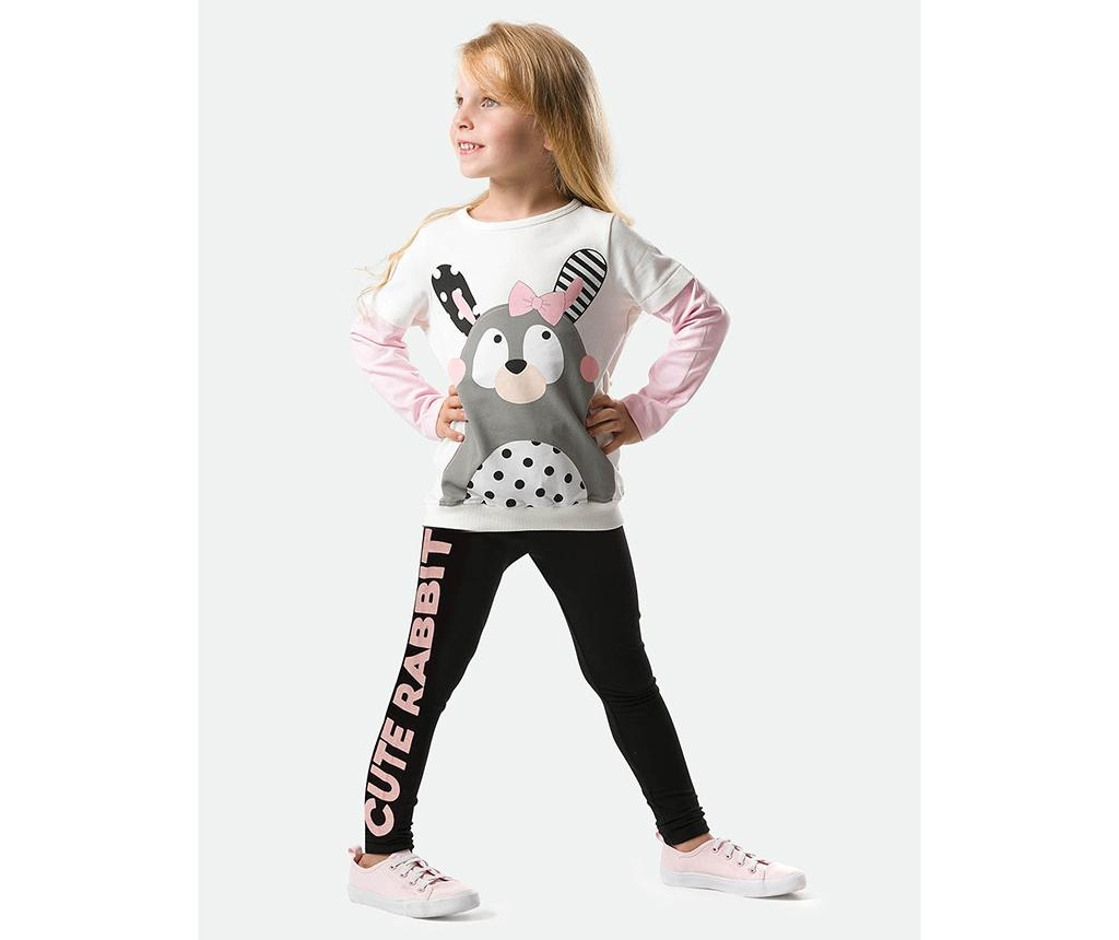 Otroški komplet - top in pajkice Cute Rabbit 2 let