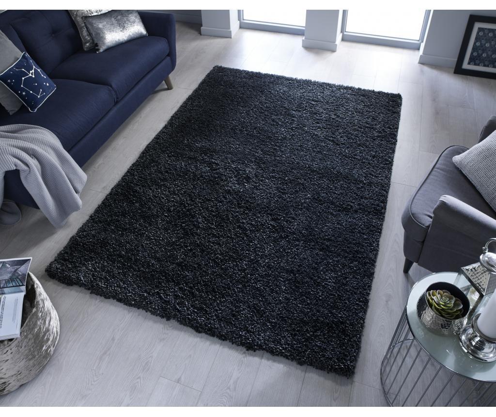Χαλί Brilliance Black 120x170 cm