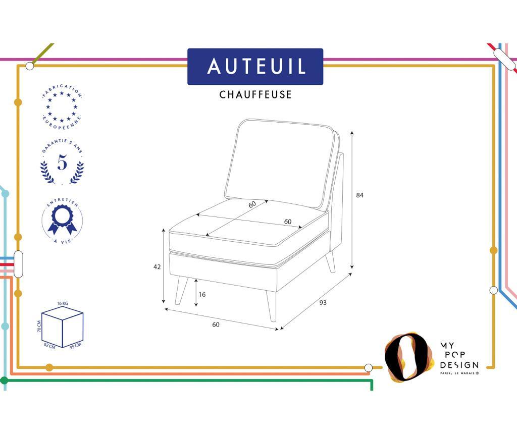 Auteuil Contrasté Nappali heverő