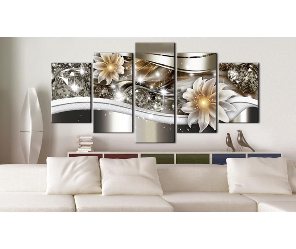 Σετ 5 πίνακες Abstract Art Luminosity