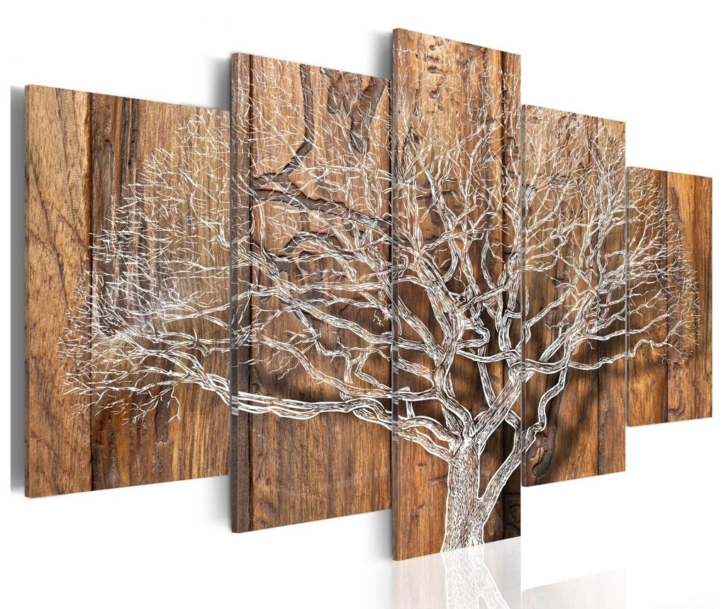 Комплект 5 картини Tree Chronicle