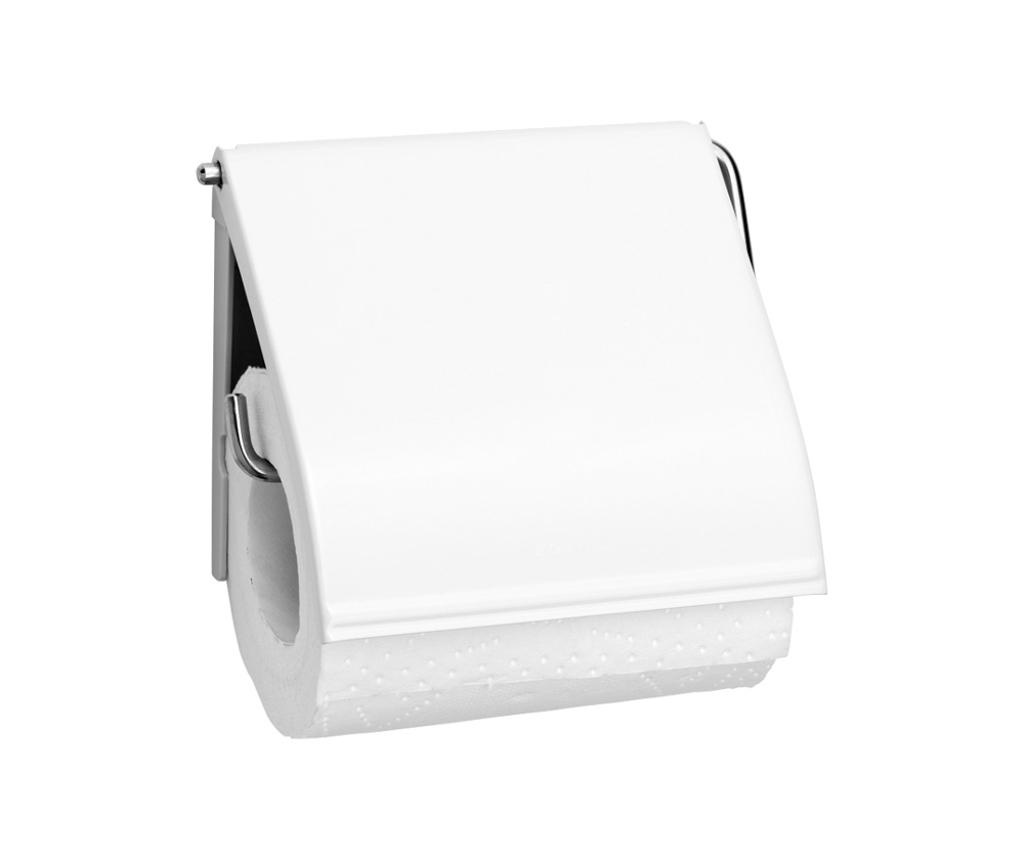 Suport pentru hartie igienica Brabantia Classic White