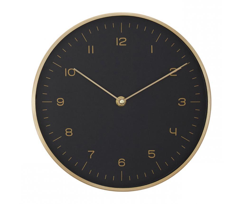 Ρολόι τοίχου Elko Black
