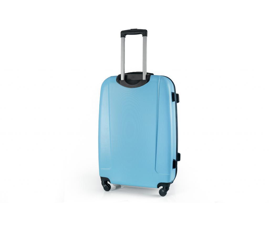 Gurulós bőrönd S