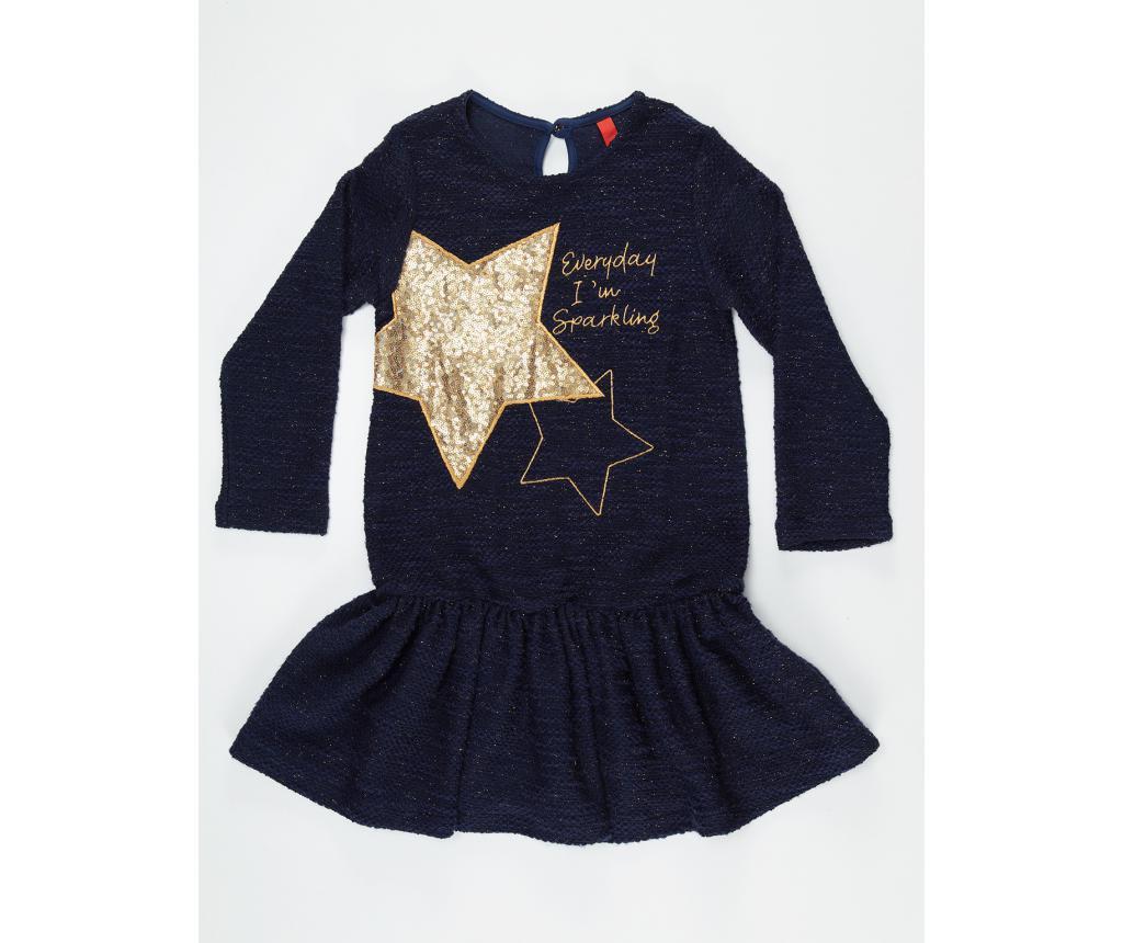 Rochie fete Shinny Star Navy 4 years
