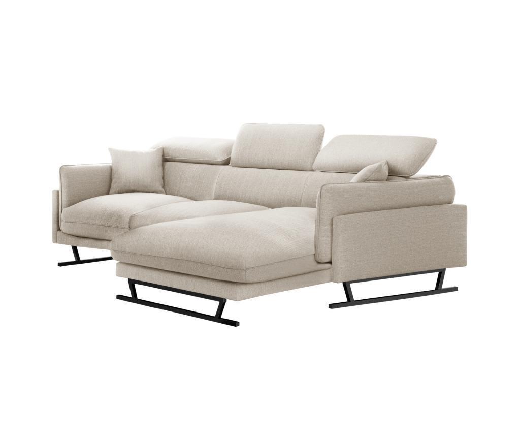 Десен ъглов диван Gigi Cream
