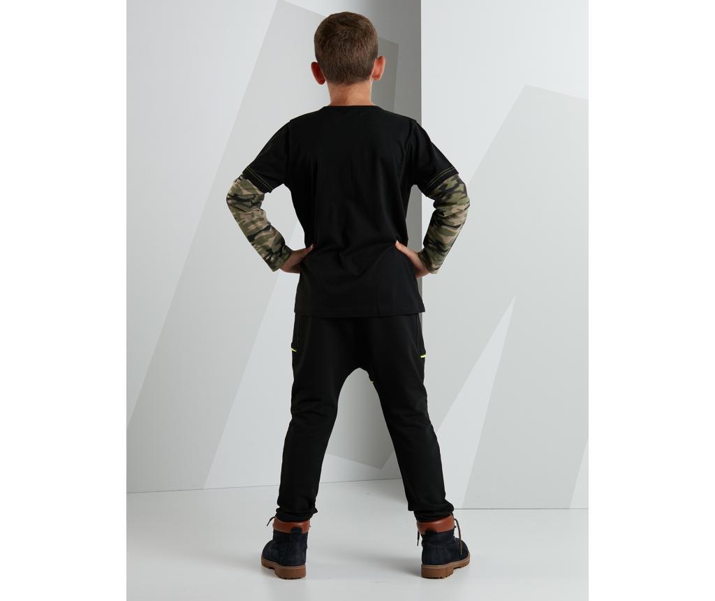 Set bluza si pantaloni pentru copii No Camouflage 4 years