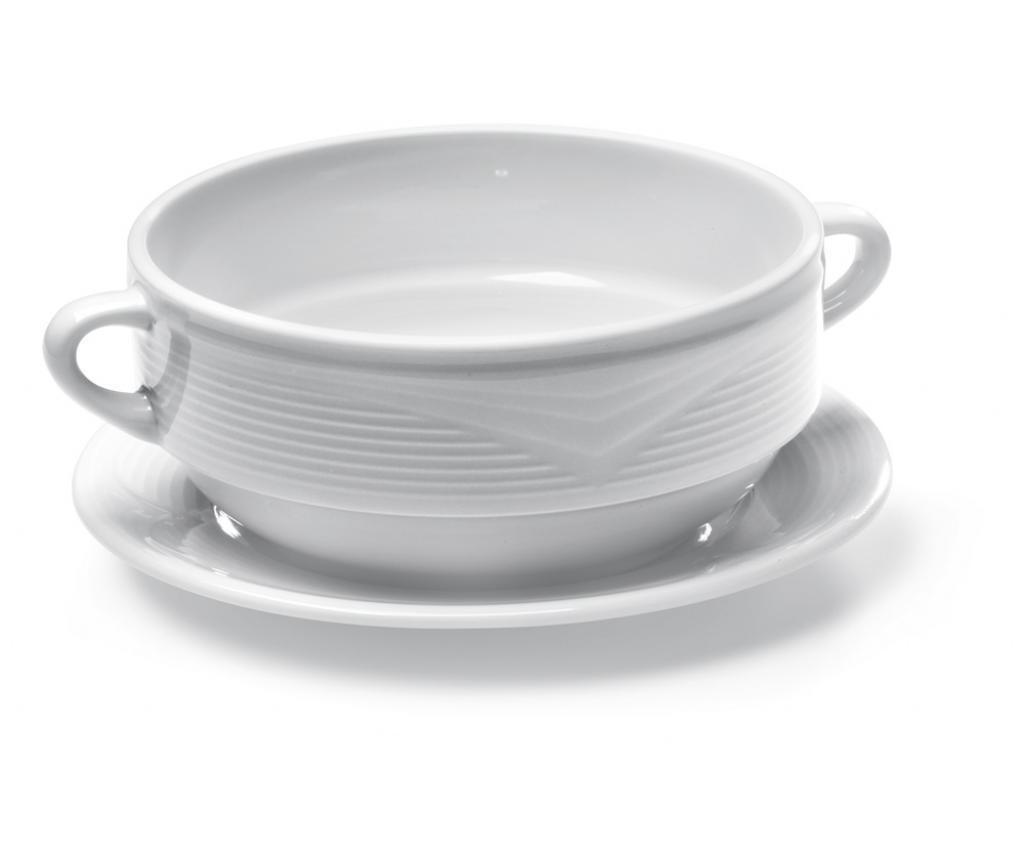 Kistányér leveses tányérnak