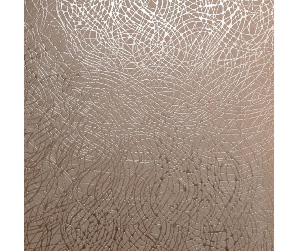 Foil Swirl Rose Gold Fotótapéta 53x1005 cm