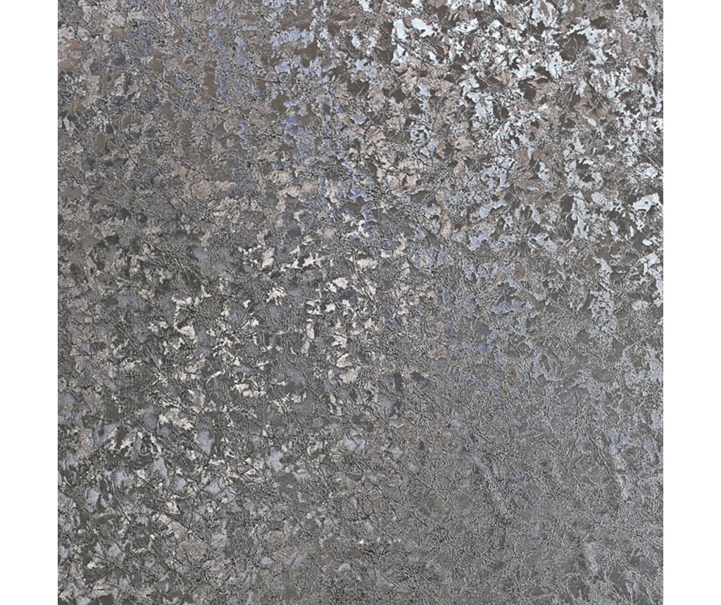 Tapet Velvet Crush Foil Gunmetal 53x1005 cm