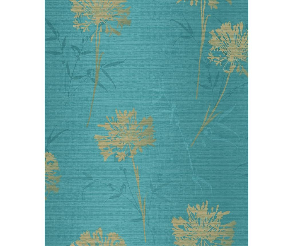 Kimora Teal Tapéta 53x1005 cm