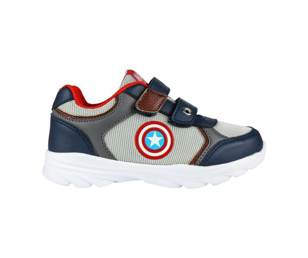 Light Sole Avengers Capitan America Gyerek sportcipő 24