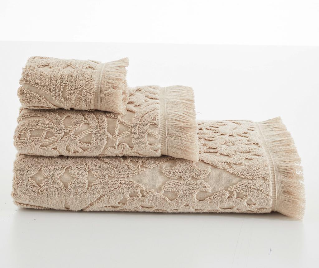 Kupaonski ručnik Elenora Beige 80x150 cm