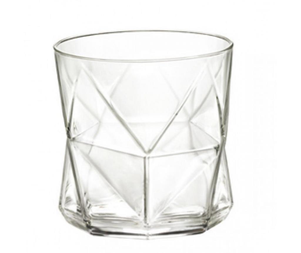 Set 4 pahare pentru apa Cassiopea Transparent 320 ml