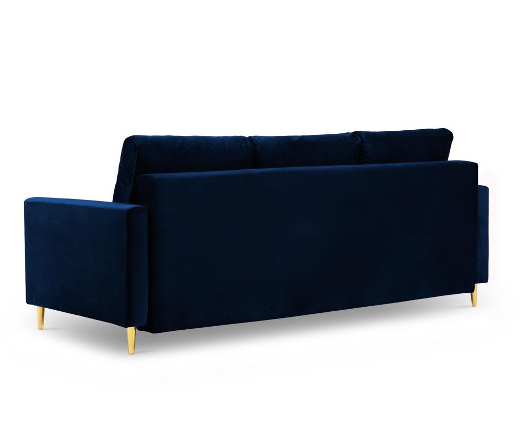Rozkładana kanapa 3-osobowa Tokyo Royal Blue