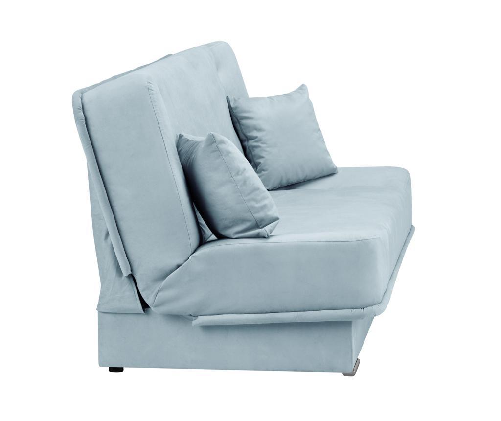 Kauč trosjed na razvlačenje Andre Pastel Blue