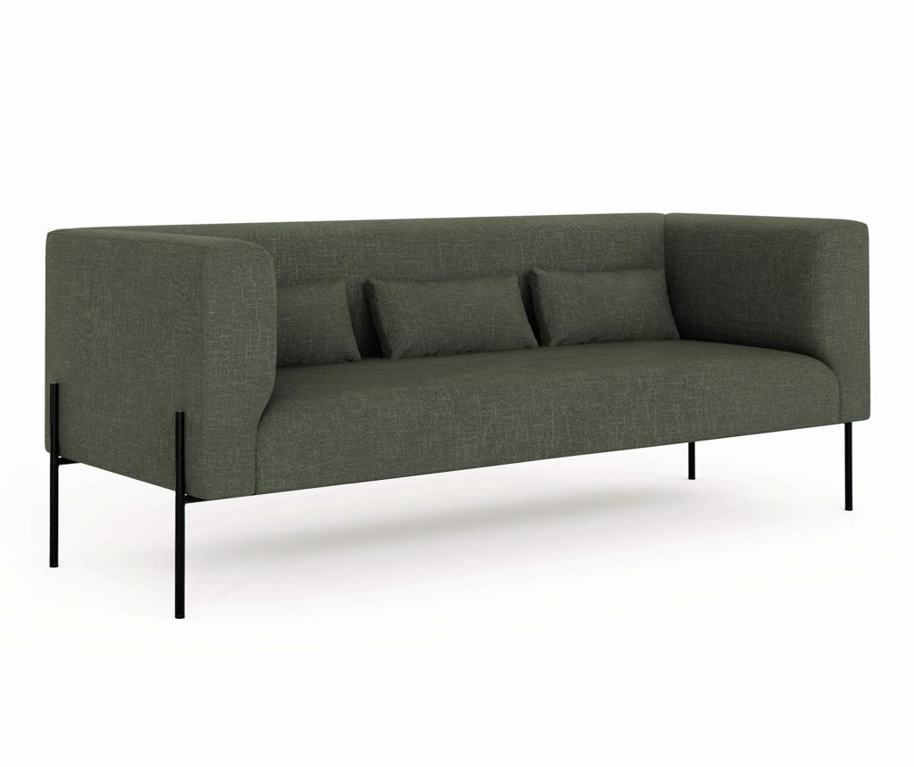 Sofa dvosjed Nina Bottle Green