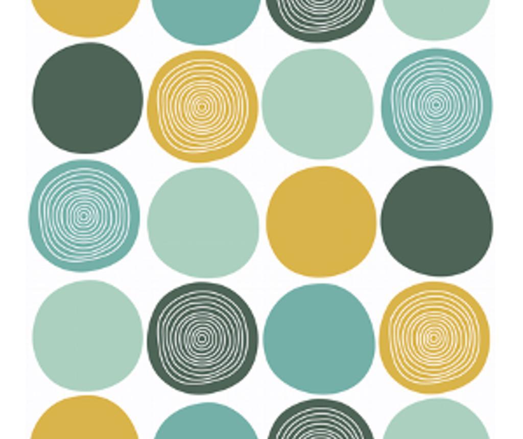 Green Circles Fotótapéta 180x300 cm