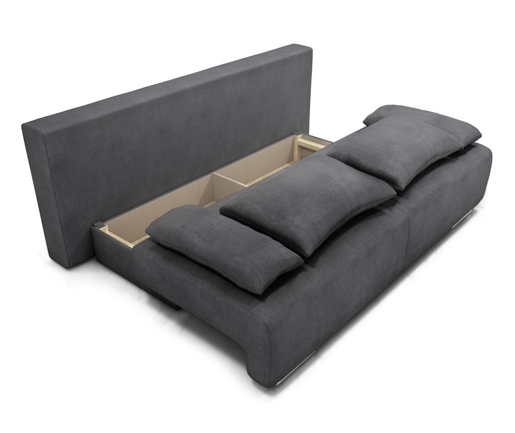Rozkładana kanapa trzyosobowa Georgia Enjoy Ash