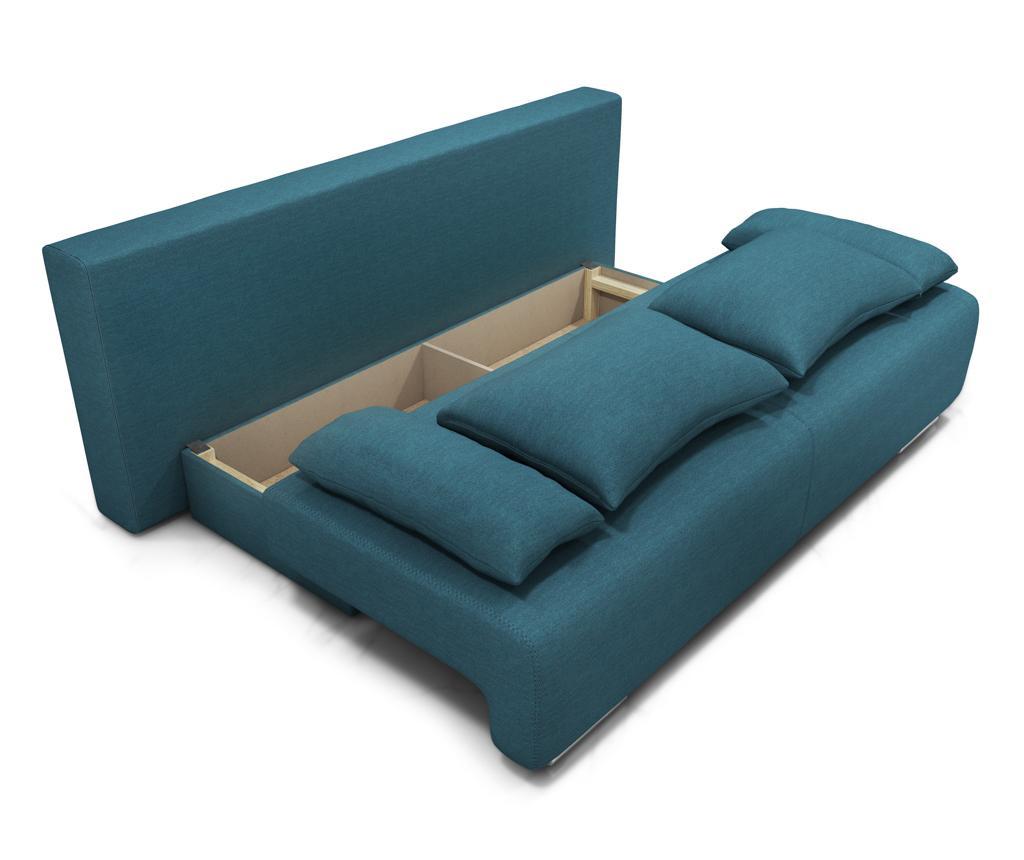 Canapea extensibila 3 locuri Georgia Enjoy Turquoise
