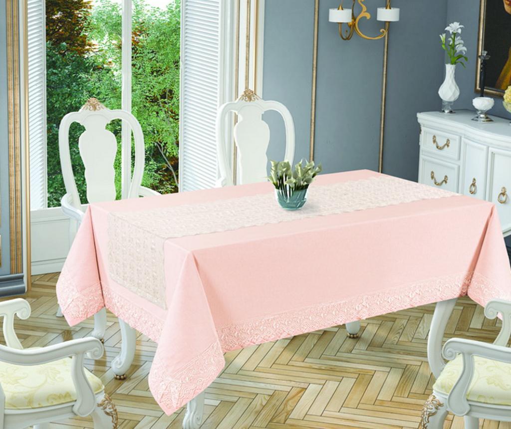 Stolnjak Joie Pink 160x220 cm