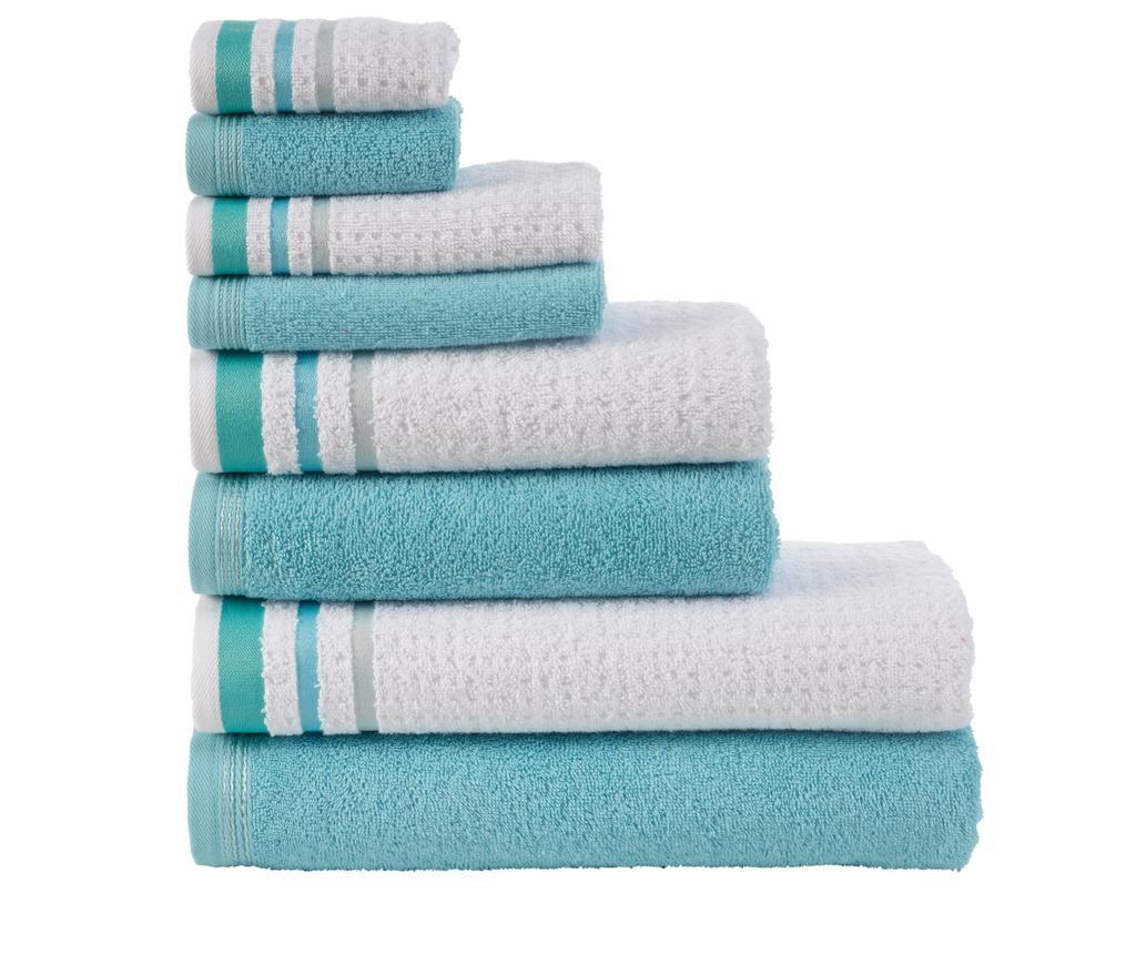 Set 8 ručnika Alina Blue