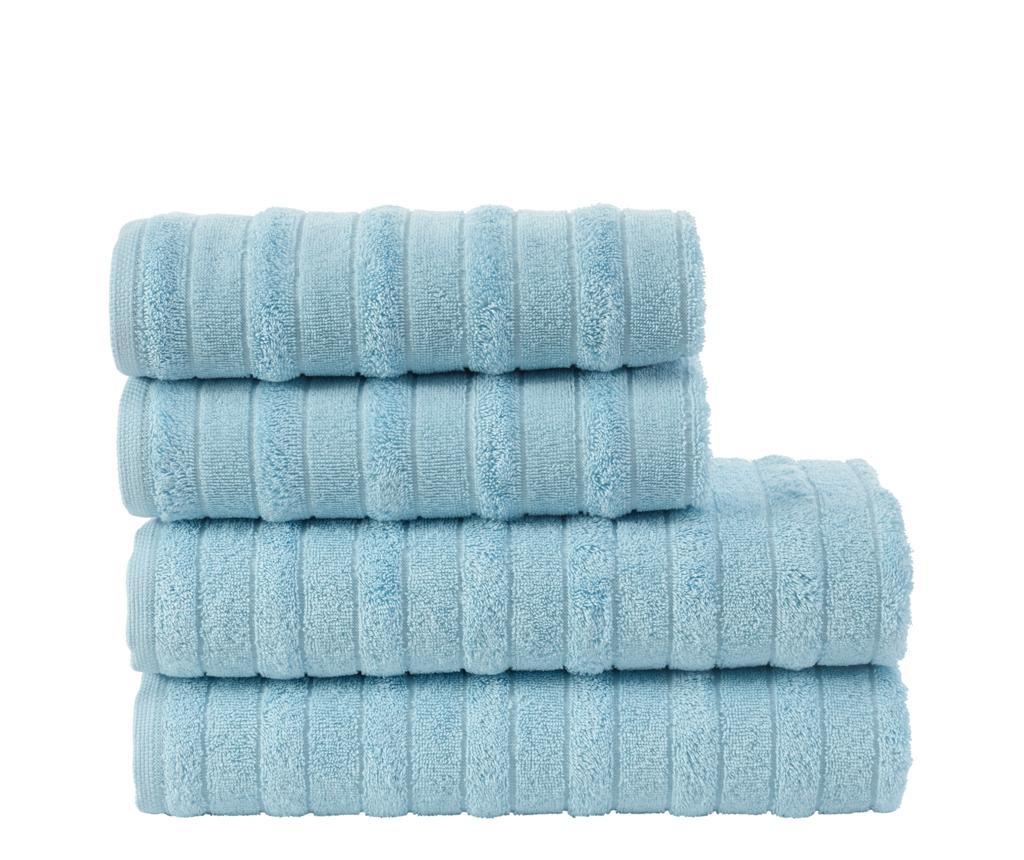 Set 4 ručnika Hill Blue