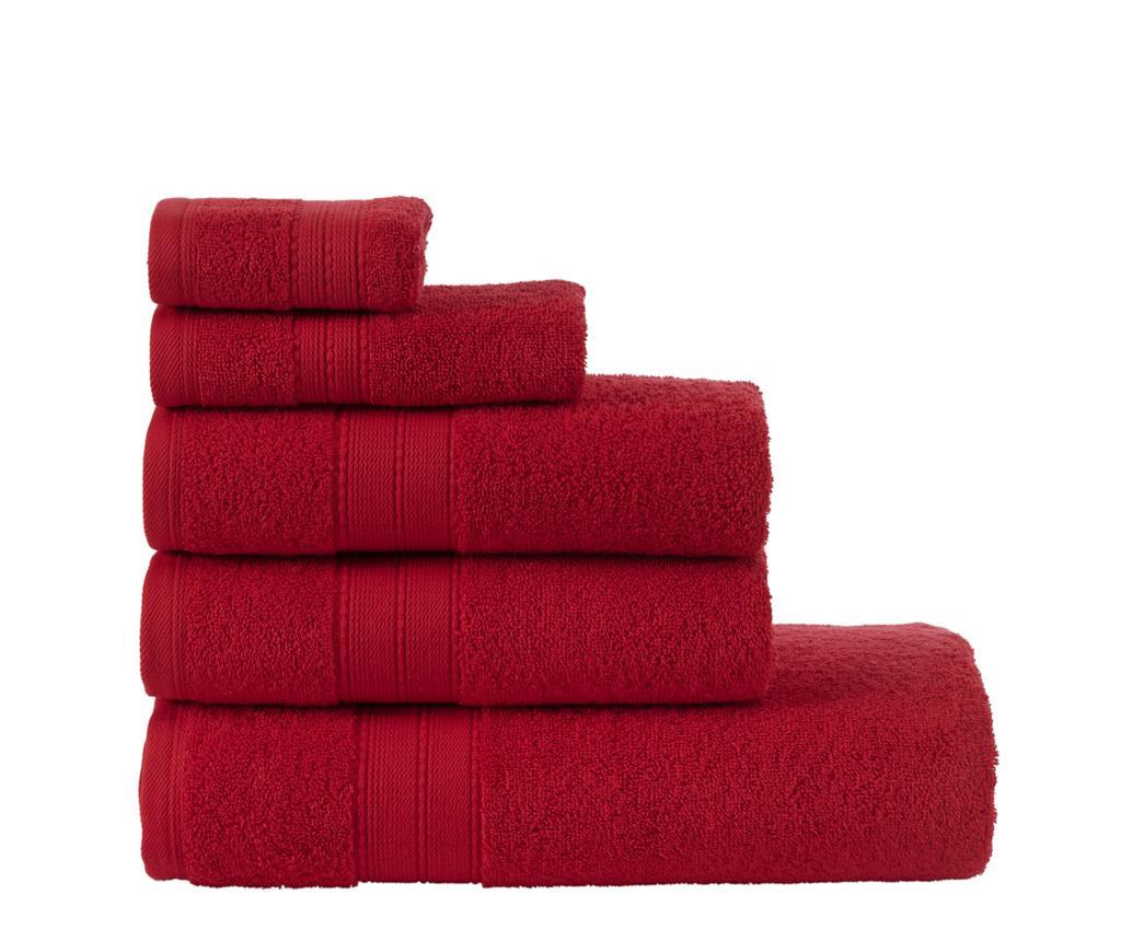 Set 5 ručnika Monica Wine