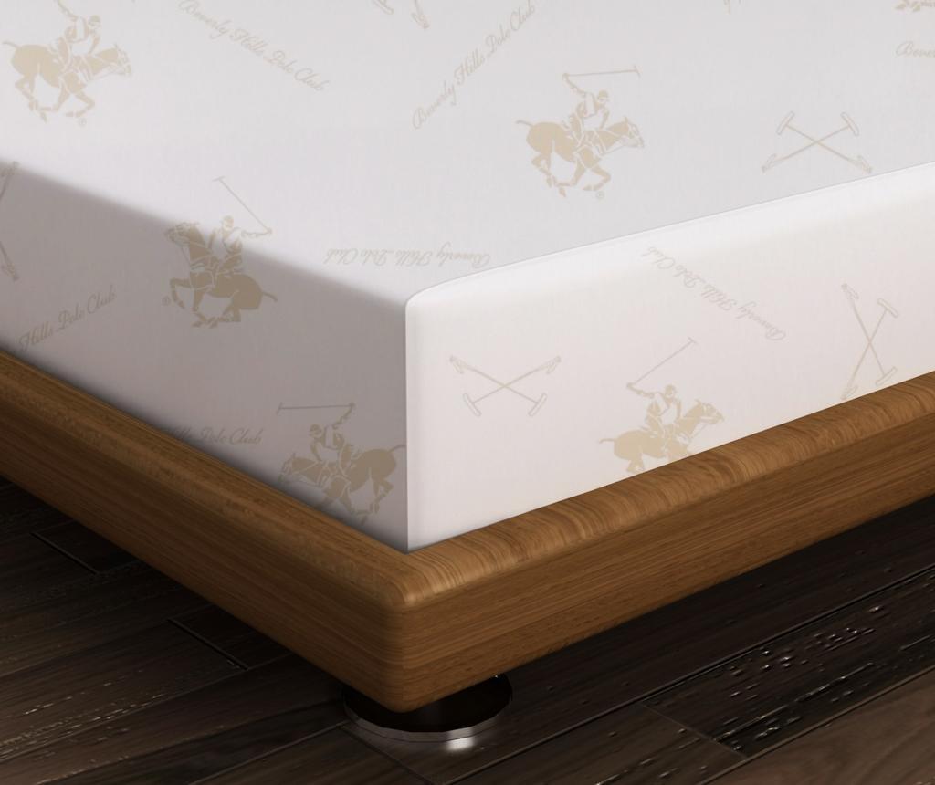 Cearsaf de pat BHPC Cream 180x240 cm