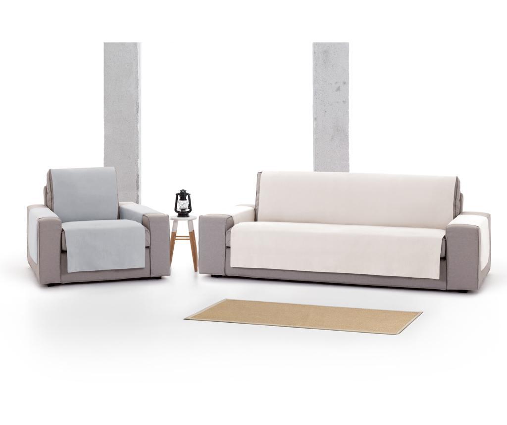 Pokrowiec na kanapę 4-osobową Levante White 190x95x220 cm