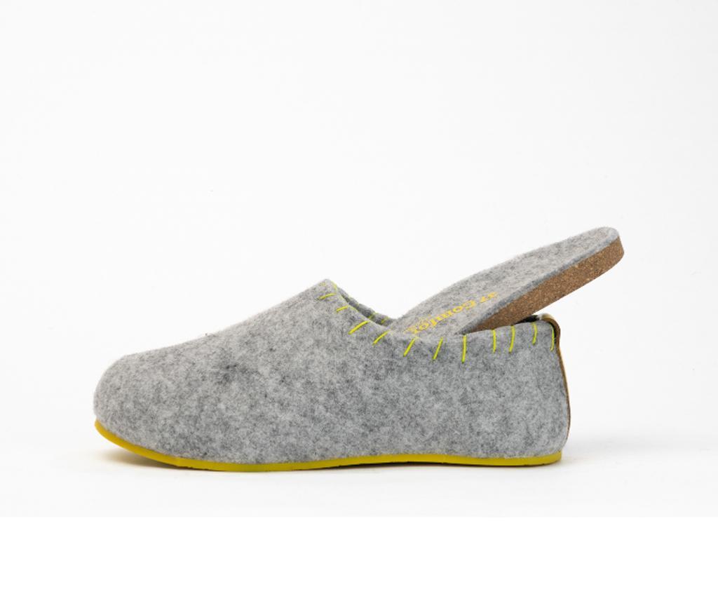 Ženski copati Yew-Women Grey 40