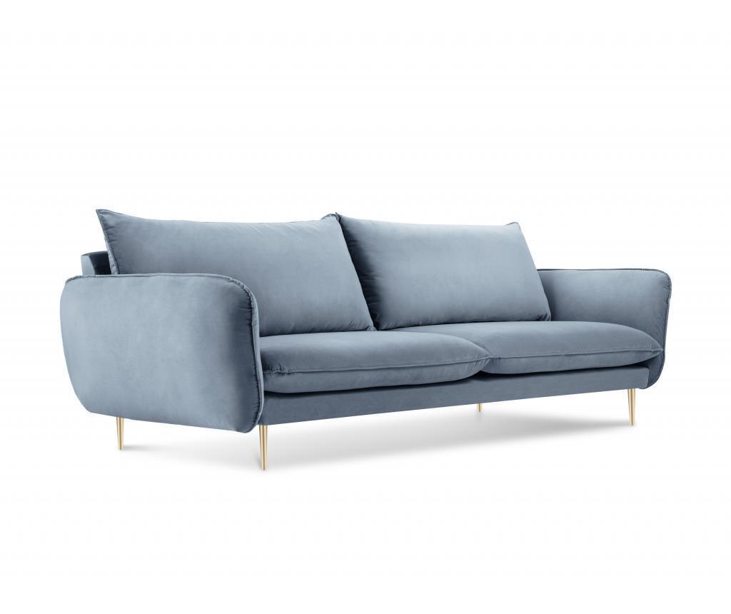 Canapea 3 locuri Florence Light Blue