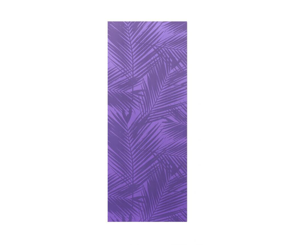 Saltea pentru yoga Palm Purple 65x185 cm