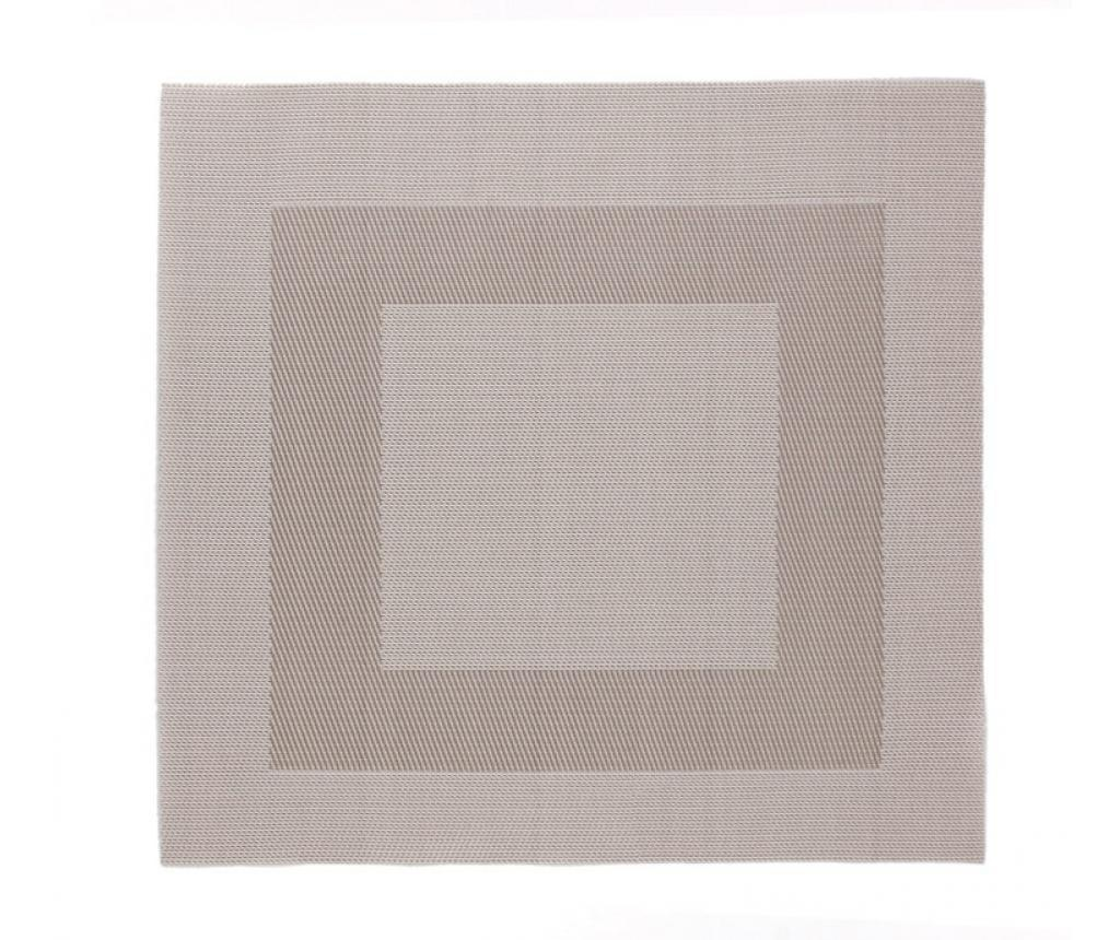 Suport farfurie Vance Taupe 33x33 cm