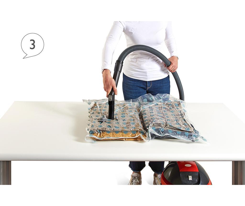 Riducispazio Blue Vákuumzsák ruháknak 70x100 cm