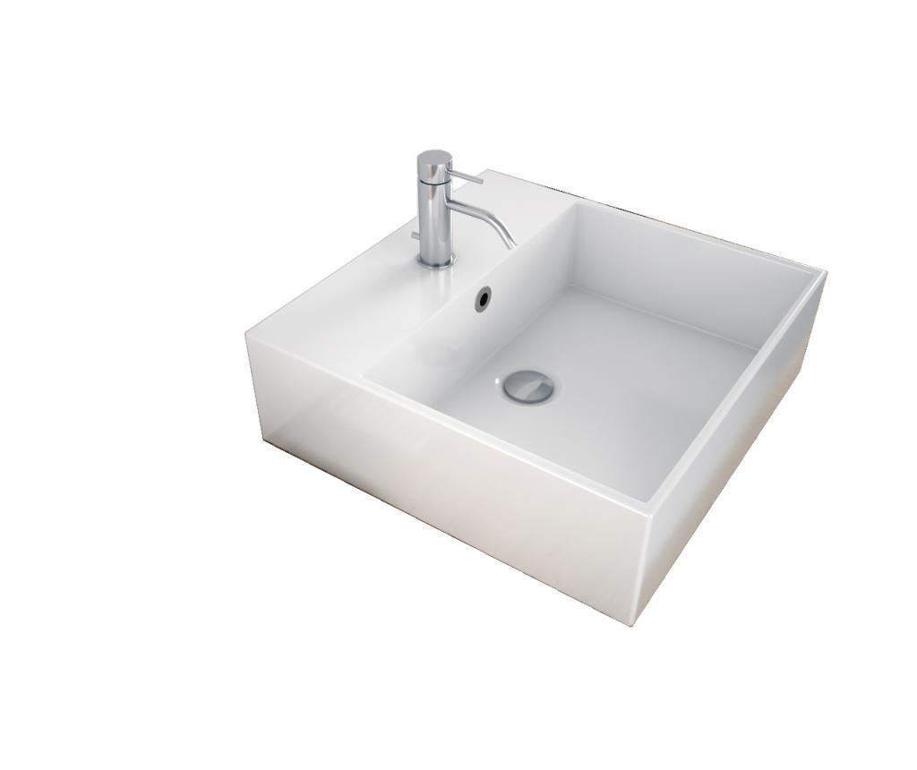 Ośmioczęściowy zestaw mebli łazienkowych Yoka