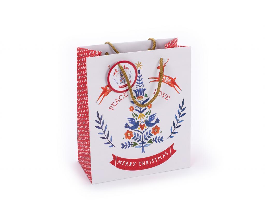 Darilna vrečka Festive Folk